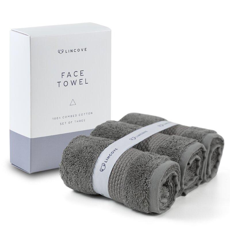 American Bedding Turkish Cotton Fingertip Towel  Color: Mist