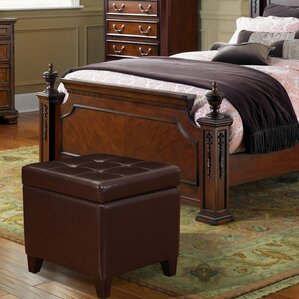Auburndale Square Tufted Cube Storage Ottoman by Latitude Run