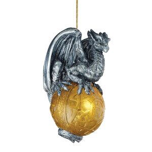 Protector of the Gothic Portal, Celtic Dragon 2010 Holiday Ornament