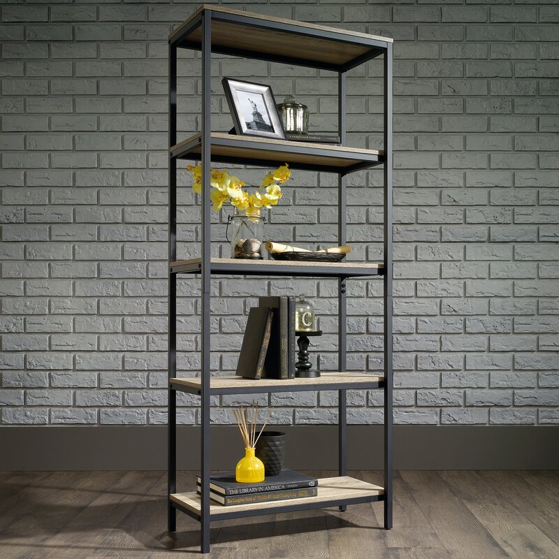 Laurel foundry modern farmhouse ermont etagere bookcase reviews ermont etagere bookcase solutioingenieria Image collections