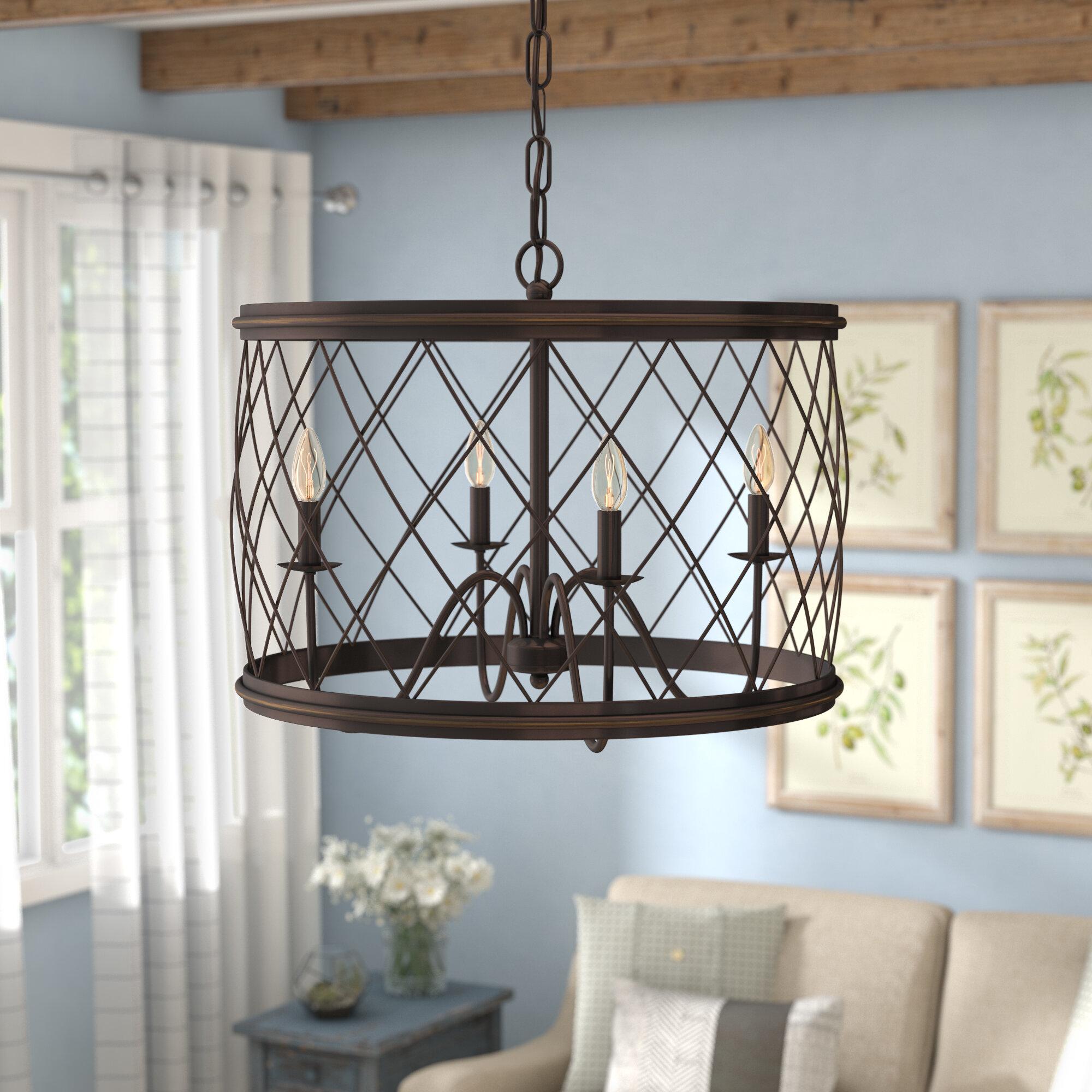 Laurel Foundry Modern Farmhouse Gabriel 4-Light Pendant & Reviews ...