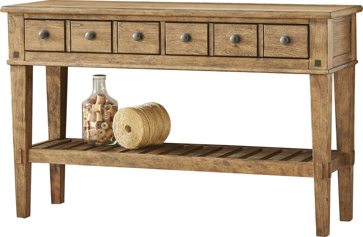 Derrickson Console Table With Drawers