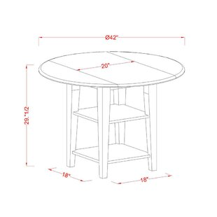 Tyshawn 3 Piece Drop Leaf Breakfast Nook Solid Wood Dining Set 2019 Coupon