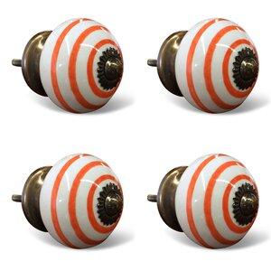 Handpainted Round Knob (Set of 4)