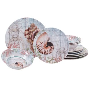 Coastal Dinnerware Sets You\'ll Love | Wayfair