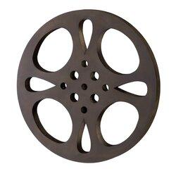 Movie Reel Wall Decor woodland imports movie reel wall décor & reviews | wayfair