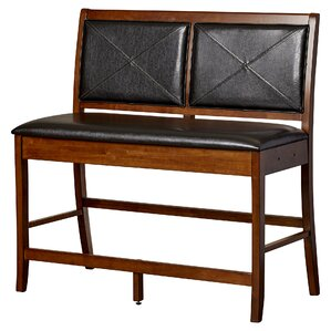 schilling wooden bench set of 2