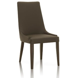 Maryam Wooden Upholstered Dining Chair (Set of 2)
