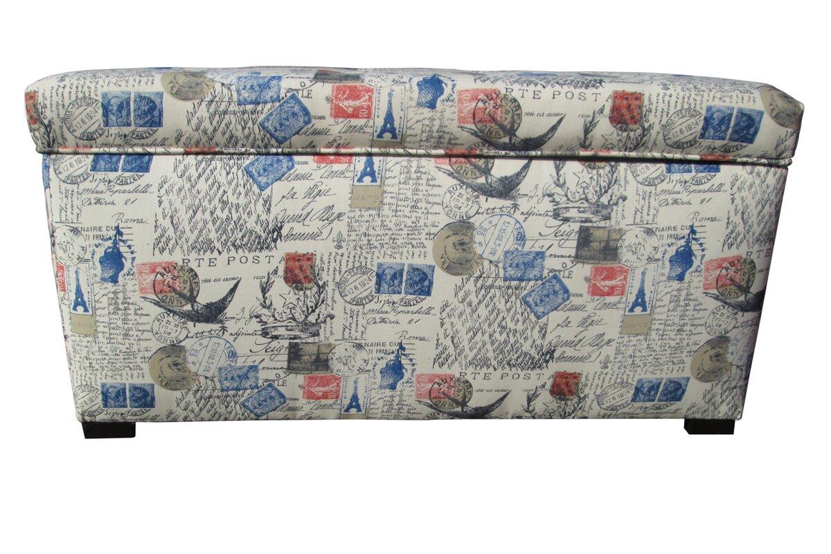 Pavot Fabric Storage Bench