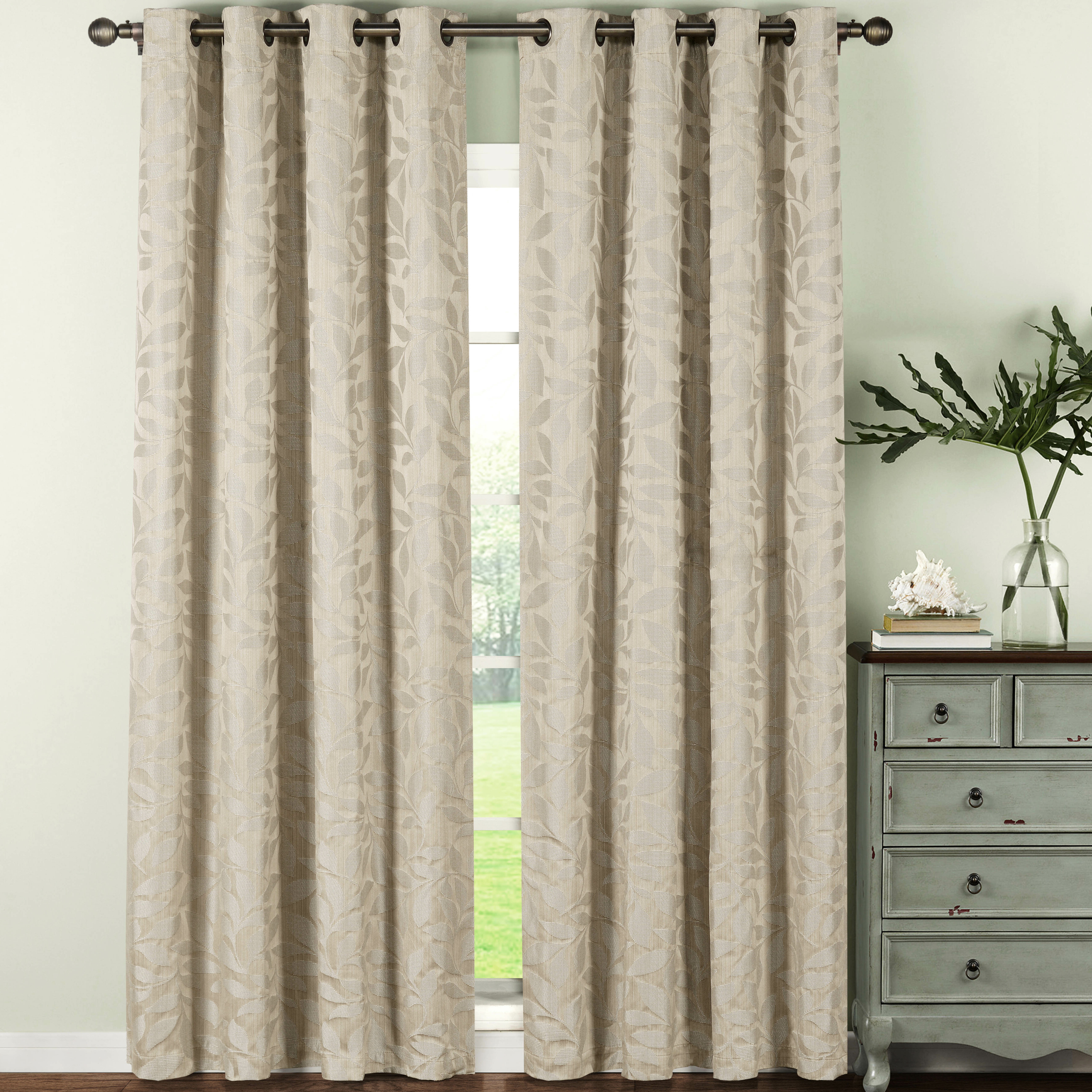 grommet panel tone two up energoresurs blinds the of blackout curtainl check curtain look window any curtains with dress sheer silver