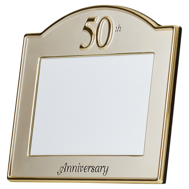 Le Prise 50th Anniversary Picture Frame | Wayfair