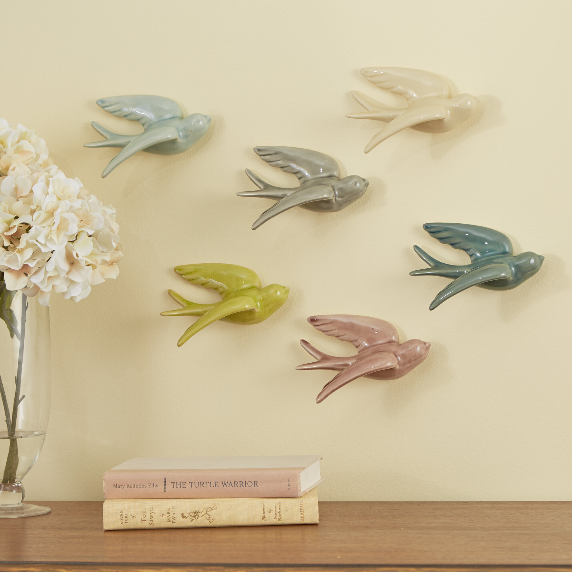 Birch Lane™ Swallows Wall Decor & Reviews | Birch Lane