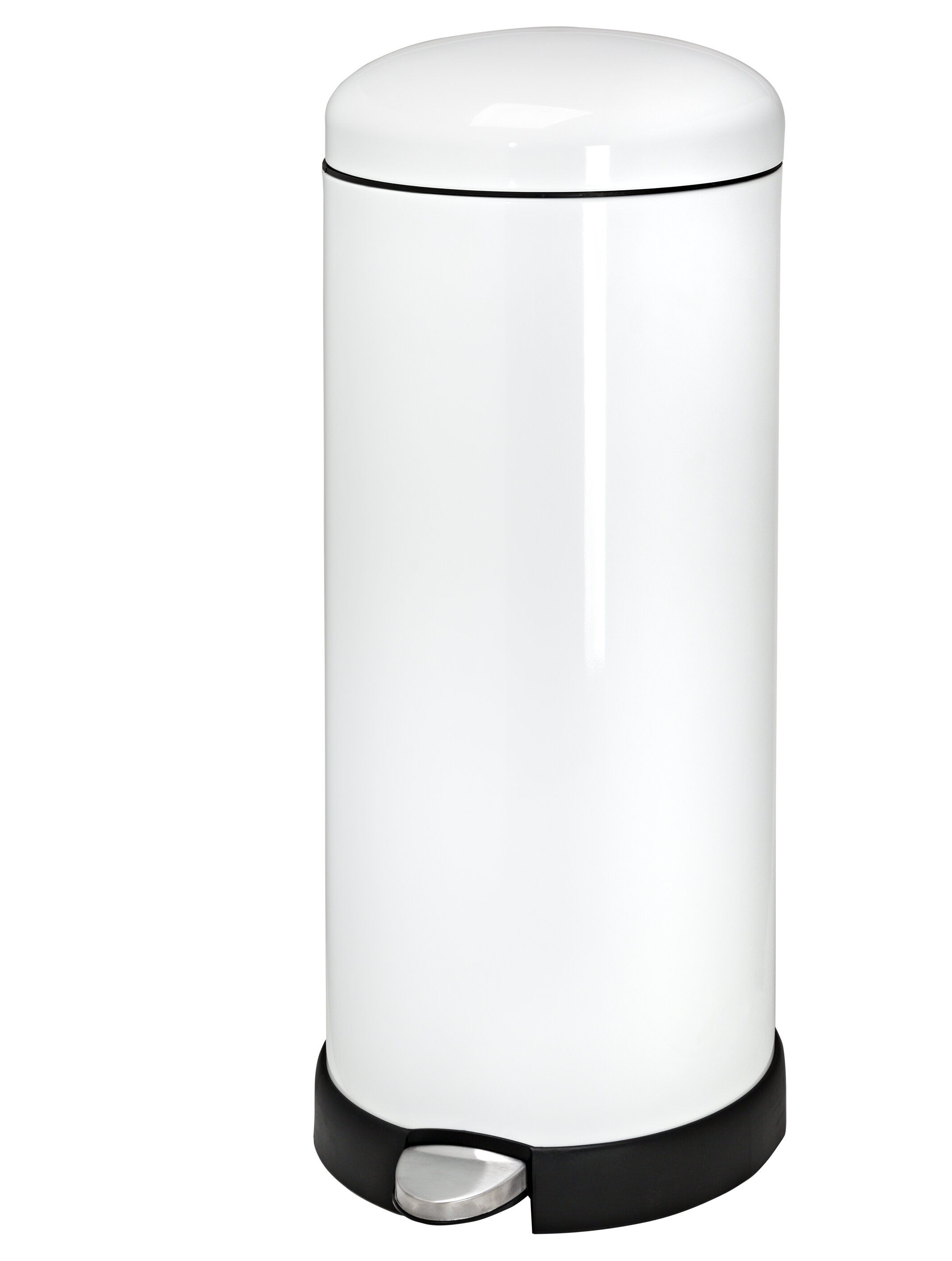 honey can do retro kitchen step on trash can reviews wayfair rh wayfair com retro kitchen garbage can vintage style kitchen trash cans