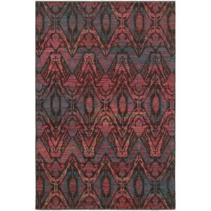 Rockwell Overdyed Brown/Multi Area Rug