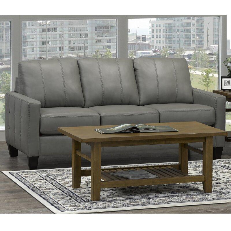 Eilish Genuine Leather Sofa