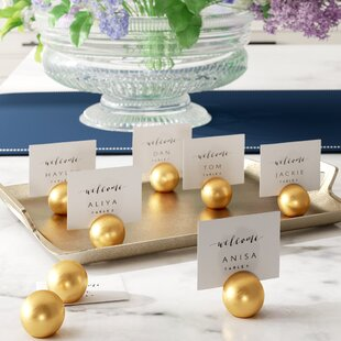 90302cd5775731 Wedding Place Card Holders You ll Love