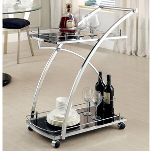 Allison Contemporary Serving Bar Cart