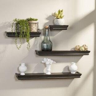 4 Piece Wall Shelf Set