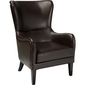 Bramhall Bonded Leather Club Chair by Alcott..