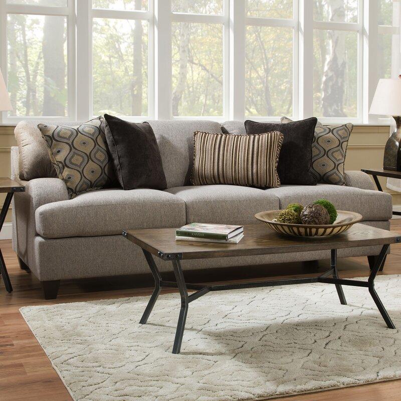 three posts simmons upholstery hattiesburg sterling sofa reviews wayfair. Black Bedroom Furniture Sets. Home Design Ideas