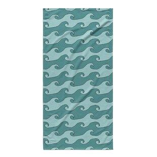 Turquoise Teal Beach Towel