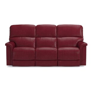 Leather Red Sofas You\'ll Love | Wayfair