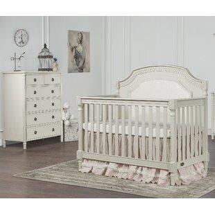 Julienne 5 In 1 Convertible 2 Piece Crib Set With Mattress