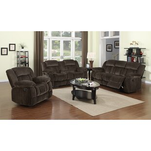 Bon Teddy Bear Reclining Configurable Living Room Set