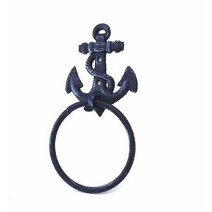 Rustic Anchor Towel Ring