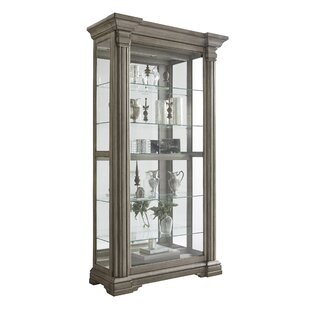 Abbigail Lighted Curio Cabinet