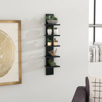 Biggins Utility Column Spine Wall Shelf