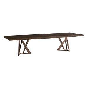 Zavala Loggia Rectangular Double Pedestal Dining Table by Lexington