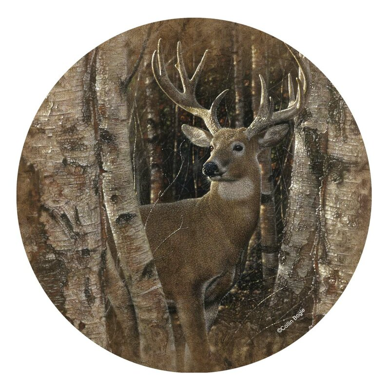 Birchwood Buck Occasions Coaster