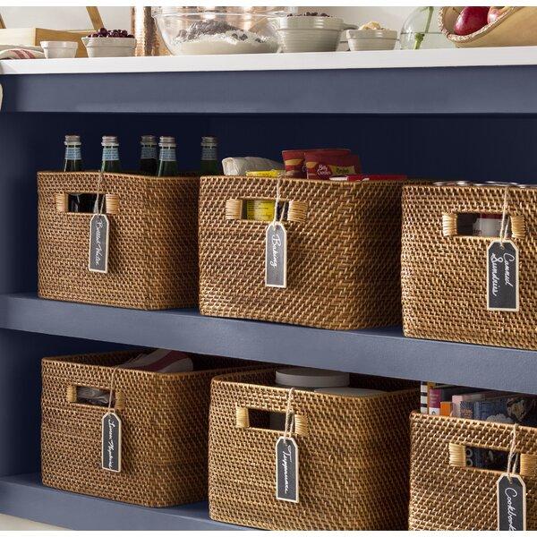 Kouboo Rectangular Rattan Storage Basket Amp Reviews Wayfair