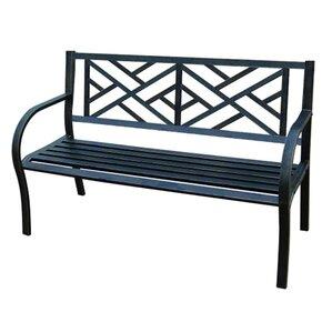 Carlisle Metal Garden Bench