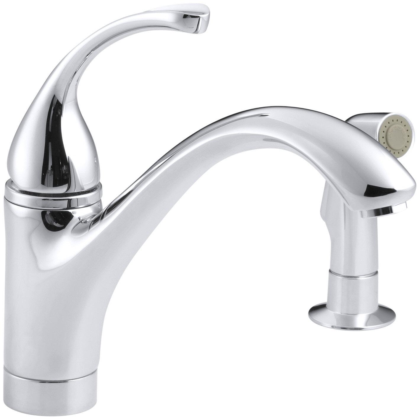 K 10416 Gcpbn Kohler Forté 2 Hole Kitchen Sink Faucet With 9 116