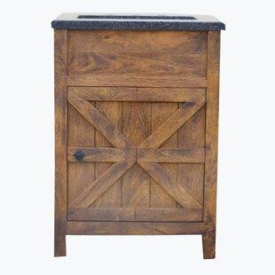esters barn door 24 single bathroom vanity set - Bathroom Barn Door