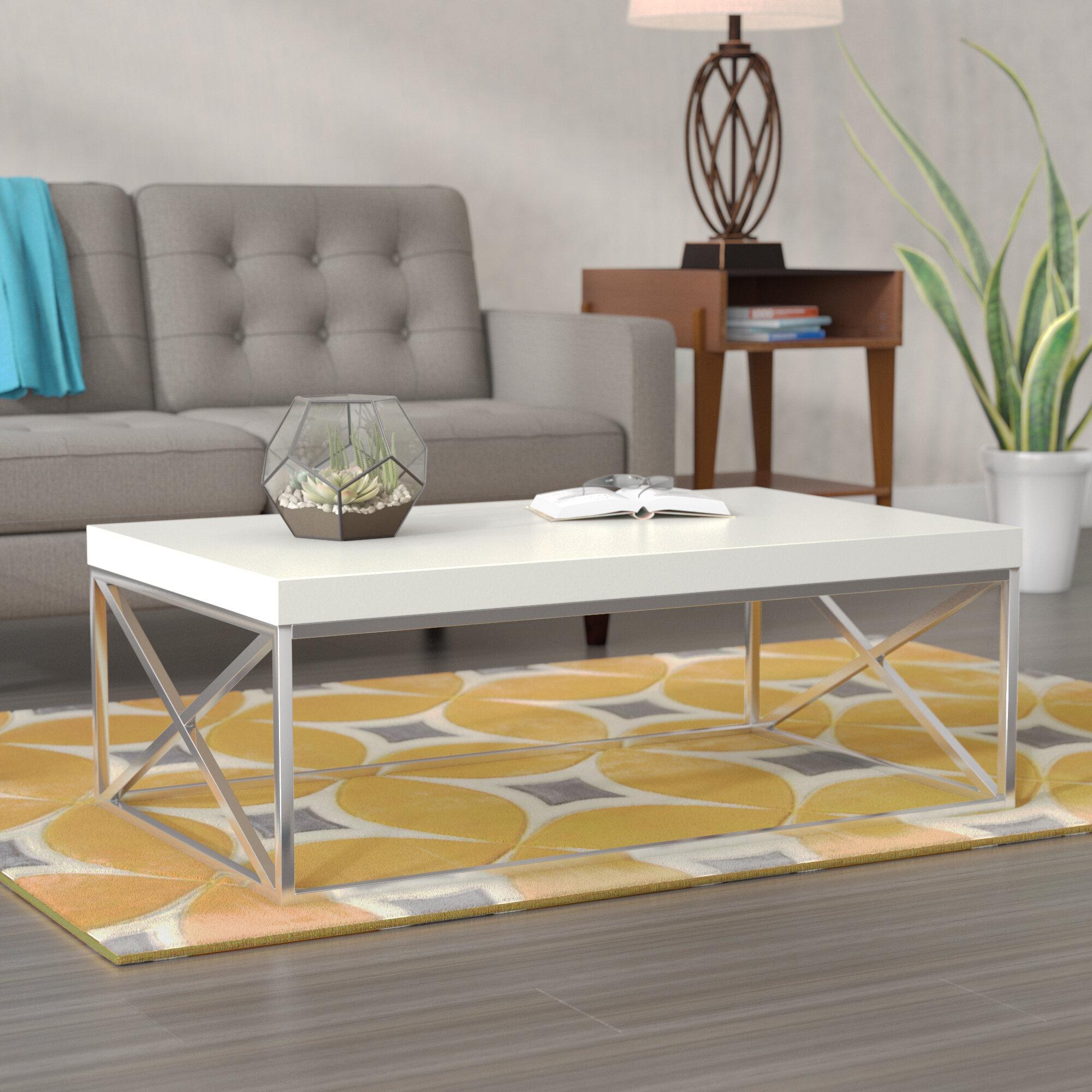 Wrought studio lexington coffee table reviews wayfair