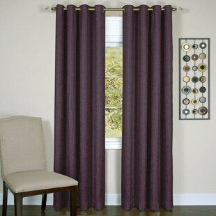 Chandlerville Extra Heavy Solid Blackout Thermal Grommet Curtain Panels