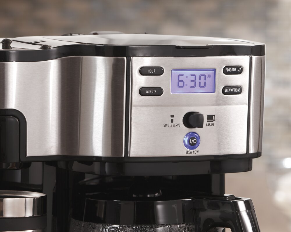 The Scoop Two Way 12-Cup Brewer Coffee Maker