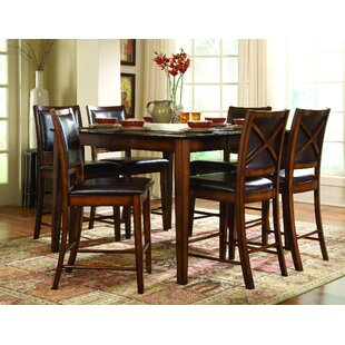 Pitre 7 Piece Pub Table Set