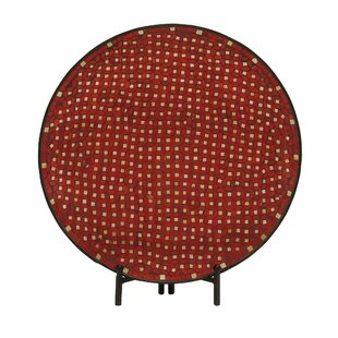 Mosaic Decorative Platter With Stand