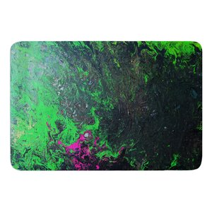 Acid Rain by Claire Day Bath Mat