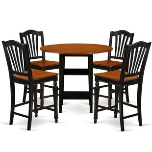 Tyshawn Counter Height 5 Piece Pub Table Set