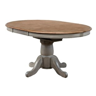 Oval kitchen dining tables youll love wayfair wonderly pedestal butterfly leaf dining table workwithnaturefo
