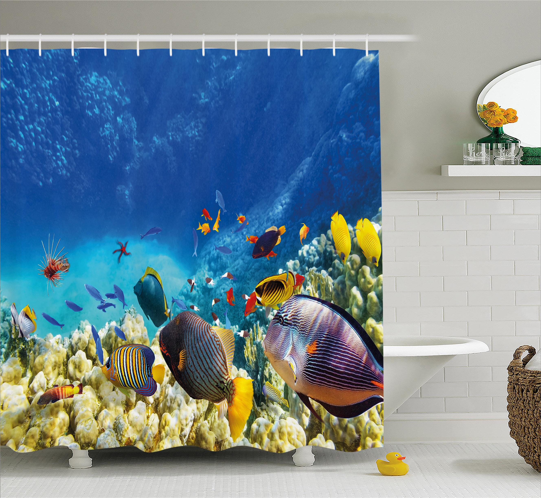 East Urban Home Aquatic Decor Shower Curtain