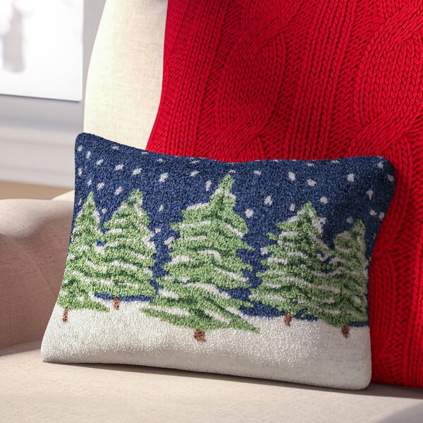 Three Posts Evergreens Winter Pillow Cover Amp Reviews Wayfair