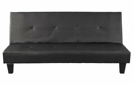 all home 3 sitzer schlafsofa aus leder bewertungen. Black Bedroom Furniture Sets. Home Design Ideas