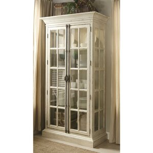 Tala Lighted Curio Cabinet by Beachcrest Home