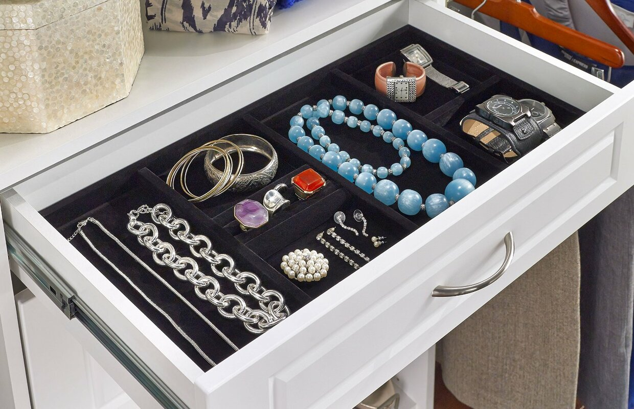 ClosetMaid SuiteSymphony Jewelry Accessory Tray Reviews Wayfair